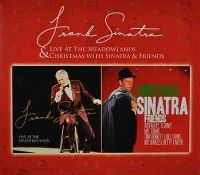 Cover Frank Sinatra - Live At The Meadowlands & Christmas With Sinatra And Friends