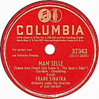 Cover Frank Sinatra - Mam'Selle