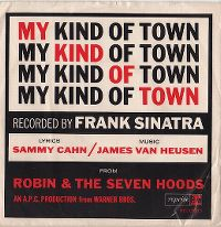 Cover Frank Sinatra - My Kind Of Town