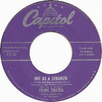 Cover Frank Sinatra - Not As A Stranger