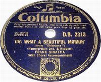 Cover Frank Sinatra - Oh, What A Beautiful Morning