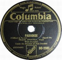 Cover Frank Sinatra - Paradise