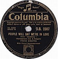 Cover Frank Sinatra - People Will Say We're In Love
