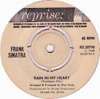 Cover Frank Sinatra - Rain In My Heart