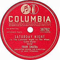Cover Frank Sinatra - Saturday Night (Is The Loneliest Night Of The Week)
