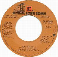 Cover Frank Sinatra - Say Hello