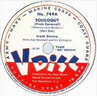 Cover Frank Sinatra - Soliloquy