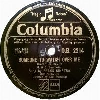 Cover Frank Sinatra - Someone To Watch Over Me