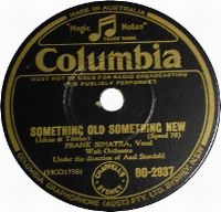 Cover Frank Sinatra - Something Old, Something New
