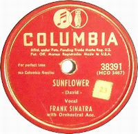 Cover Frank Sinatra - Sunflower