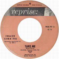 Cover Frank Sinatra - Take Me