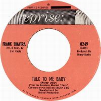 Cover Frank Sinatra - Talk To Me Baby