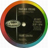 Cover Frank Sinatra - That Old Feeling