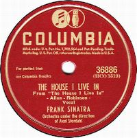 Cover Frank Sinatra - The House I Live In (That's America To Me)