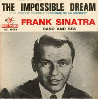 Cover Frank Sinatra - The Impossible Dream (The Quest)