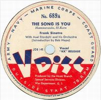 Cover Frank Sinatra - The Song Is You