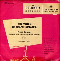 Cover Frank Sinatra - The Voice Of Frank Sinatra