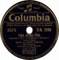 Cover Frank Sinatra - Time After Time