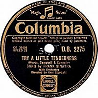 Cover Frank Sinatra - Try A Little Tenderness