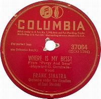 Cover Frank Sinatra - Where Is My Bess?