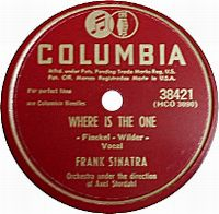 Cover Frank Sinatra - Where Is The One