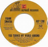 Cover Frank Sinatra - You Turned My World Around