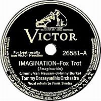 Cover Frank Sinatra / Tommy Dorsey And His Orchestra - Imagination