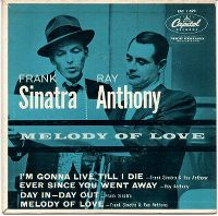 Cover Frank Sinatra And Ray Anthony And His Orchestra - I'm Gonna Live Till I Die