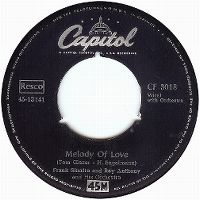 Cover Frank Sinatra And Ray Anthony And His Orchestra - Melody Of Love