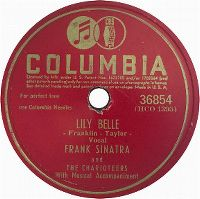 Cover Frank Sinatra and The Charioteers - Lily Belle