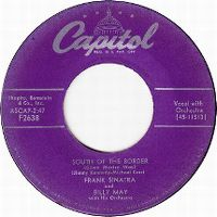Cover Frank Sinatra & Billy May - South Of The Border (Down Mexico Way)