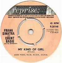 Cover Frank Sinatra & Count Basie - My Kind Of Girl
