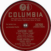 Cover Frank Sinatra & Paula Kelly - Sunshine Cake