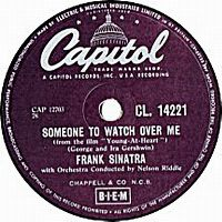 Cover Frank Sinatra with Nelson Riddle And His Orchestra - Someone To Watch Over Me