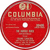 Cover Frank Sinatra with The Ken Lane Quintet - The Huckle Buck