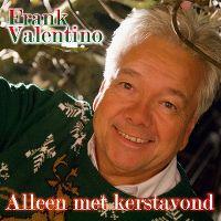 Cover Frank Valentino - Alleen met kerstavond