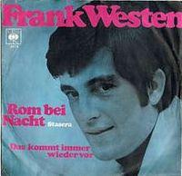 Cover Frank Westen - Rom bei Nacht