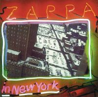Cover Frank Zappa - Zappa In New York