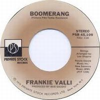 Cover Frankie Valli - Boomerang