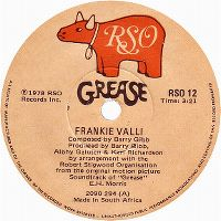 Cover Frankie Valli - Grease
