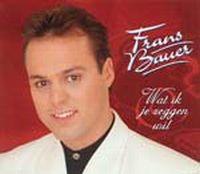 Cover Frans Bauer - Wat ik je zeggen wil