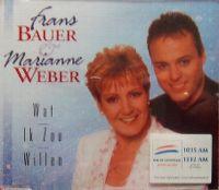 Cover Frans Bauer & Marianne Weber - Wat ik zou willen