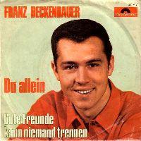 Cover Franz Beckenbauer - Gute Freunde kann niemand trennen