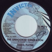 Cover Freda Payne - The Unhooked Generation