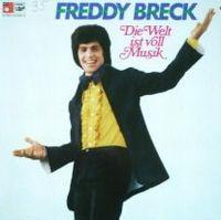 Cover Freddy Breck - Die Welt ist voll Musik