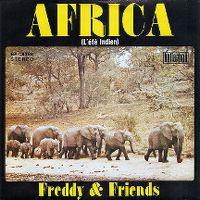 Cover Freddy & Friends - Africa (L'été Indien)