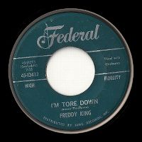 Cover Freddy King - I'm Tore Down