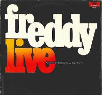 Cover Freddy Quinn, das Medium-Terzett und Orchester James Last - Freddy Live