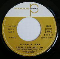 Cover Frederik Mey - Bonsoir mes amis