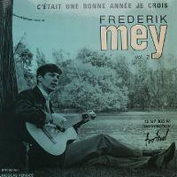 Cover Frederik Mey - C'était une bonne année je crois